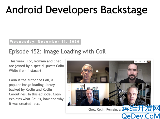 Android 官推 kotlin-first 的图片加载库——Coil的使用入门